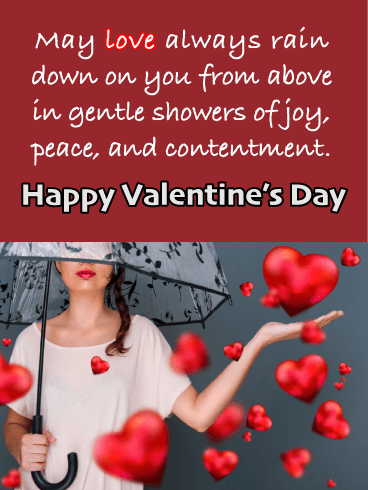 Showers of Love - Happy Valentine's Day Card for Everyone