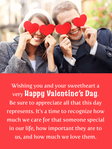 Someone Special - Happy Valentine's Day Card for Everyone