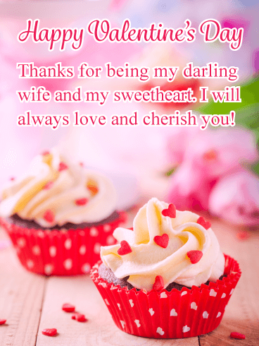 You're my Sweetheart! - Happy Valentine's Day Card for Wife