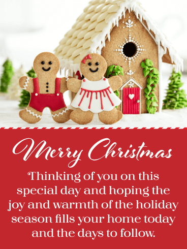 The Joy of the Holiday - Merry Christmas Card for Everyone