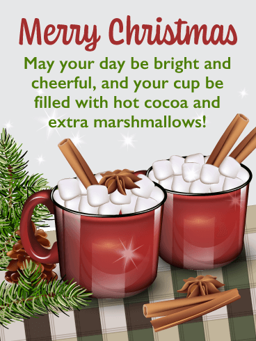 Extra Marshmallows – Merry Christmas Card for Everyone
