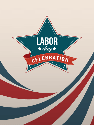 Labor Day Celebration Card