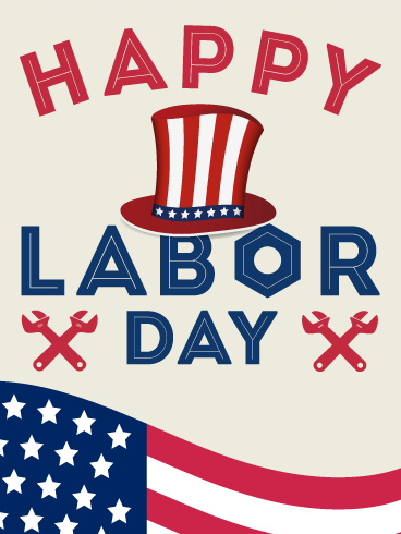 Let's Celebrate! Happy Labor Day Card