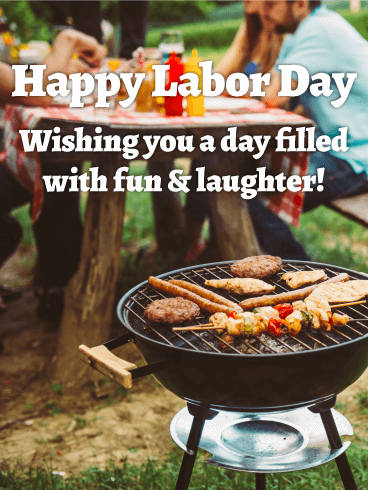 Enjoy Your Day Off Happy Labor Day Card Birthday Greeting Cards