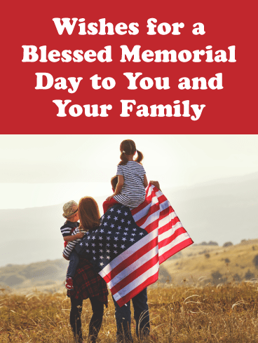 Patriot Family - Happy Memorial Day Card