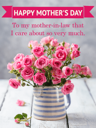 Happy Mothers Day Wishes For Mother In Law Birthday Wishes And