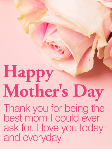 To the Best Mom - Happy Mother's Day Card | Birthday ...