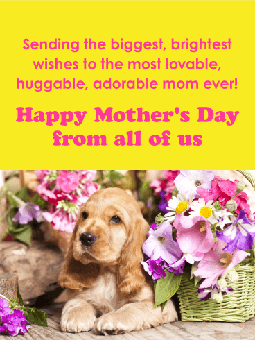To the Most Lovable Mom - Happy Mother's Day Card
