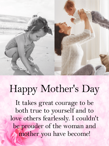 For a Dear Daughter - Happy Mother's Day Card