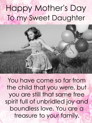 You are a Treasure - Happy Mother's Day Card for Daughter