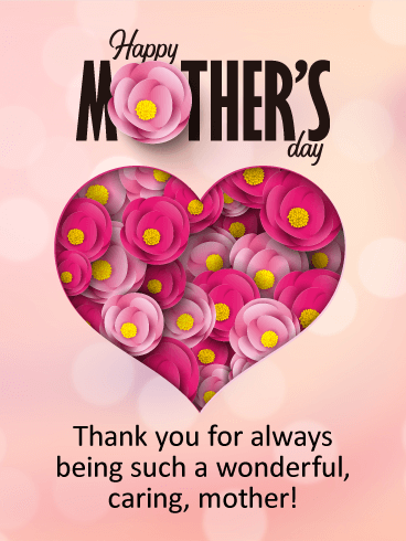 Thank You Always! Happy Mother's Day Card