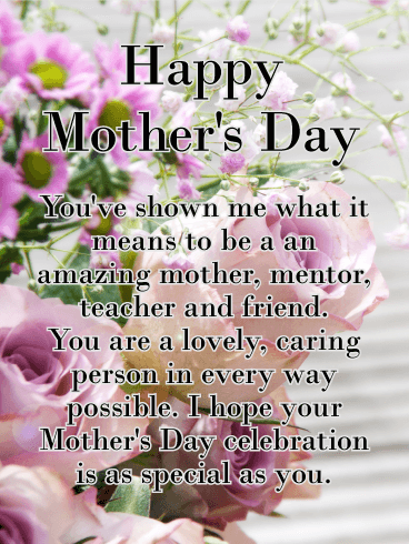 To the worlds best mom happy mothers day card birthday gorgeous flower happy mothers day card for aunt m4hsunfo