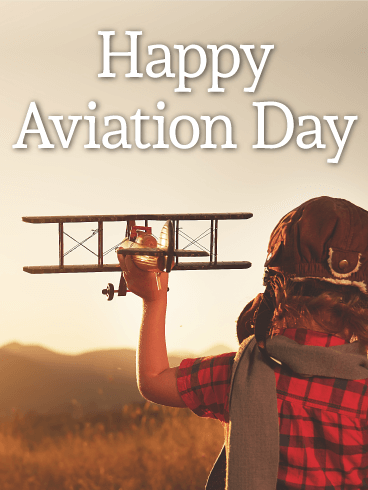 Fly Away! Happy Aviation Day