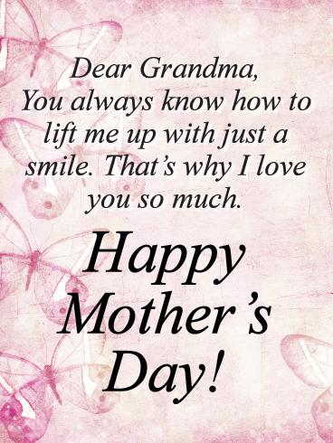 I Love You So Much-Happy Mother's Day Card for Grandmother