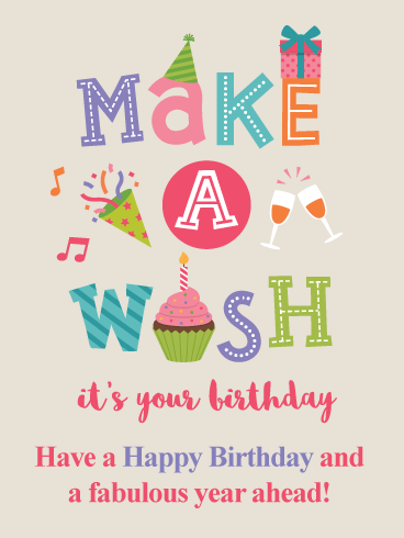 It's Your Birthday - Happy Birthday Card