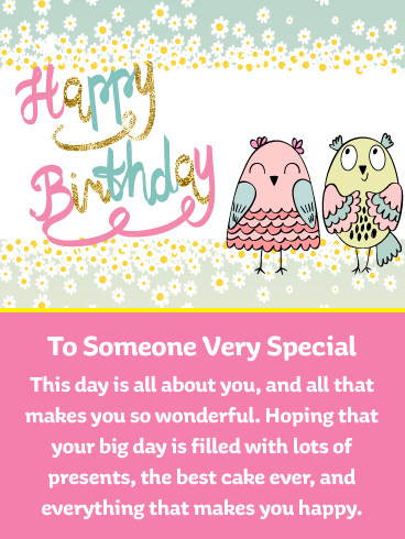 Sweet Owls – Happy Birthday Card