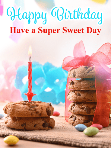 Everyone Loves Cookies! Happy Birthday Card
