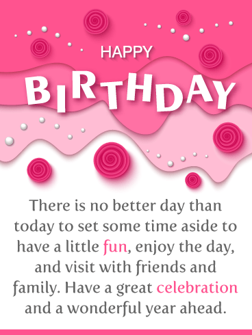 Have a Great Celebration! Happy Birthday card