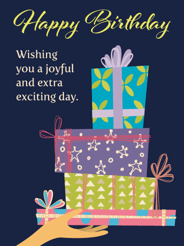 Fabulous Gifts – Happy Birthday Card