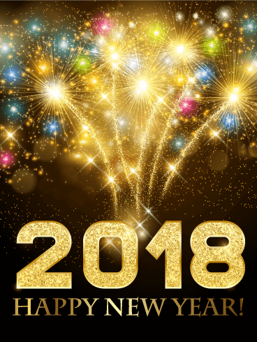 happy new year card 2019 birthday greeting cards by davia