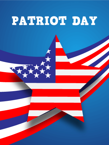 Remembering You - Patriot Day Card