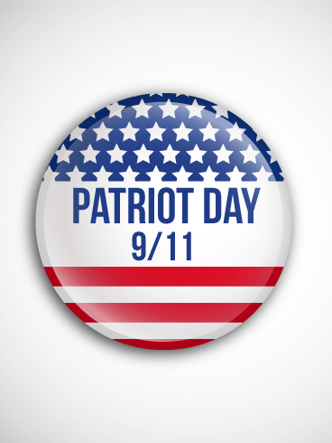 Remembering the Day - Patriot Day Card