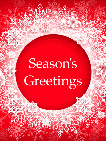 Seasons greetings cards 2018 happy holidays greetings 2018 seasons greetings card m4hsunfo