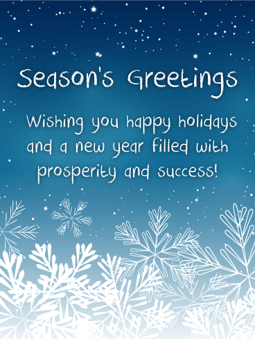 Seasons greetings cards 2018 happy holidays greetings 2018 snowing night seasons greetings cards m4hsunfo