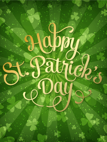 Let's Celebrate! St. Patrick's Day Card