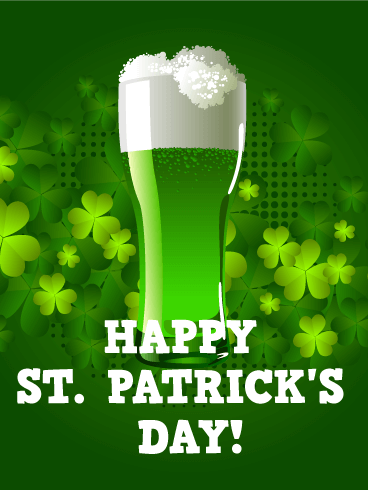Cheers! Happy St. Patrick's Day Card