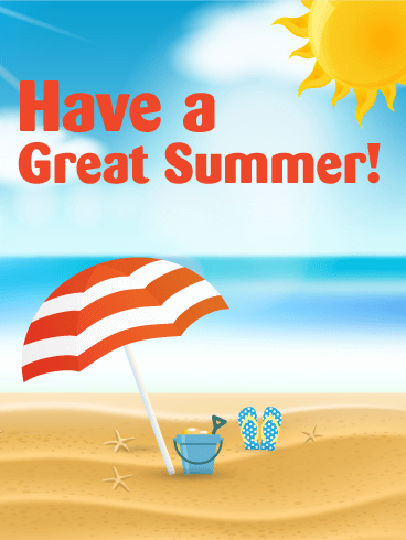 Have a Great Summer Day Card