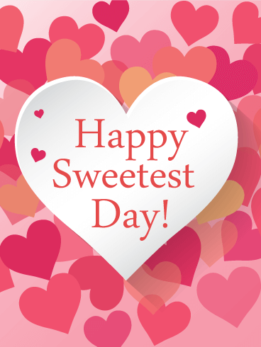 Sweetest Day Lovely Heart Card