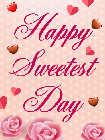 Sweetest Day Rose Card