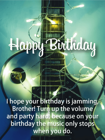Happy Birthday Brother Messages with Images - Birthday Wishes and
