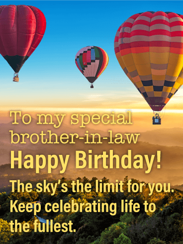Keep Celebrating! Happy Birthday Card for Brother-in-Law