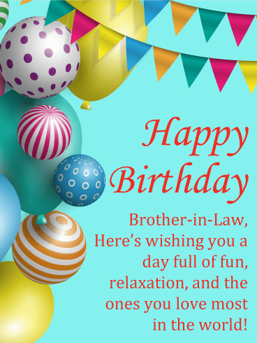 Happy Birthday Brother In Law Messages With Images Birthday Wishes