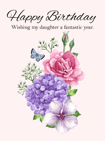 Wishing You Success! Happy Birthday Card for Daughter