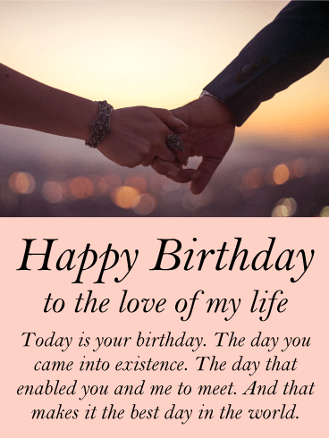 The Best Day - Happy Birthday Card for Husband