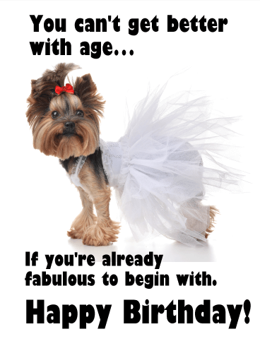 Already Fabulous - Funny Birthday Card