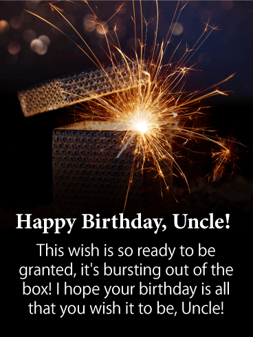 Blood Pumping - Happy Birthday Card for Uncle