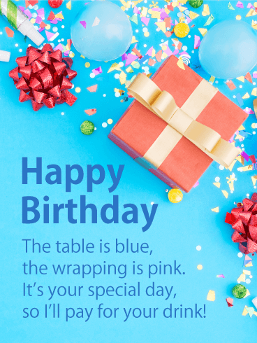 Make it Special One - Happy Birthday Card