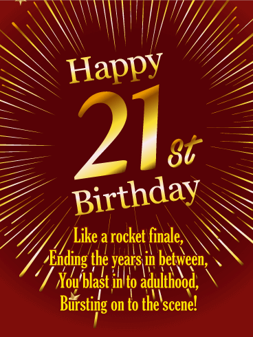 Happy 21st Birthday Messages With Images Birthday Wishes And