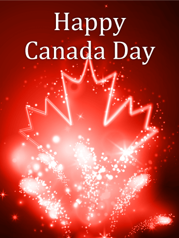 It's a Celebration - Happy Canada Day Card