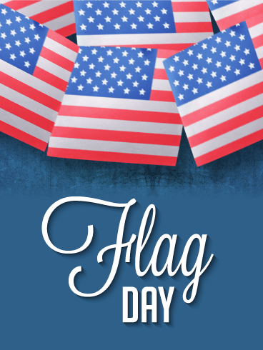 It's Special Day - Happy Flag Day Card