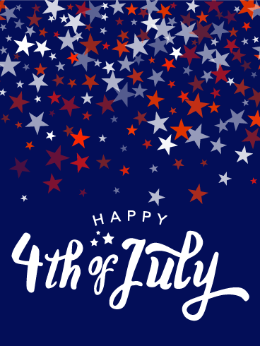 Full of Stars - Happy 4th of July Card