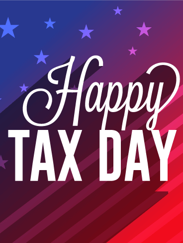 It's the Time of the Year! Tax Day Card
