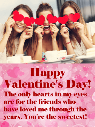 You're the Sweetest! Happy Valentine's Day Card for Friends