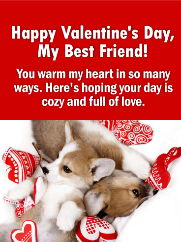 Valentines day cards 2019 happy valentines day greetings 2019 you warm my heart happy valentines day card for friends m4hsunfo Choice Image