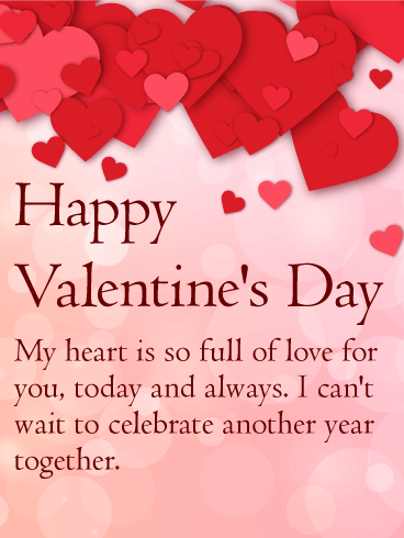 My Heart is Full of Love - Happy Valentine's Day Card