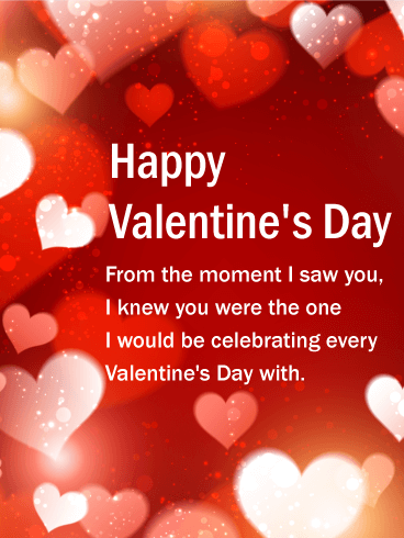 You are the One - Happy Valentine's Day Card